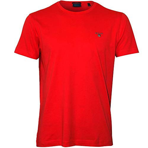 Original Sandía Rojo Gant Para Hombre The Camiseta Ss shirt T T1wryf5zwq