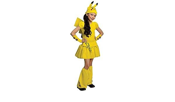 Rubies Costume Co Tama-o R886700-L Girls Pokemon Pikachu ...