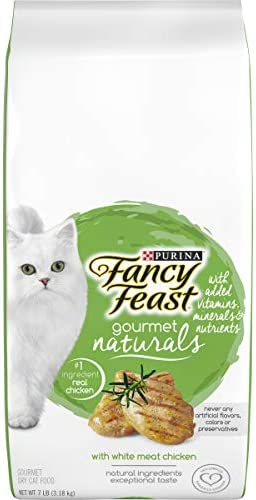 Purina Fancy Feast Gourmet Naturals Dry Cat Food