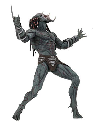 NECA Predator 2018: Armored Assassin Predator Deluxe Action Figure (Predator Deluxe Head)