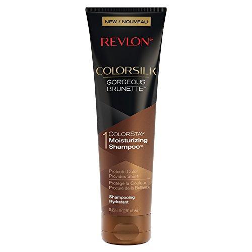 Revlon ColorSilk Care Shampoo, Brown, 8.45 Fluid Ounce