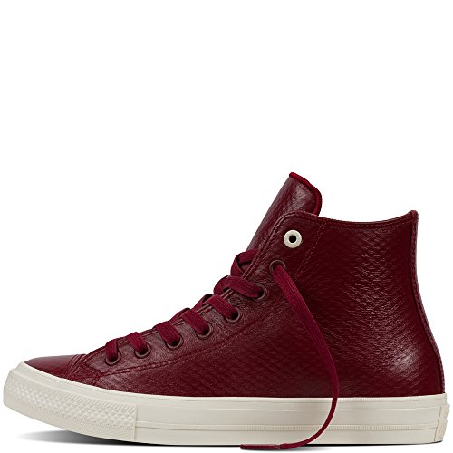 Converse All Scarpa Star II Leather rosso aPwnafrqd