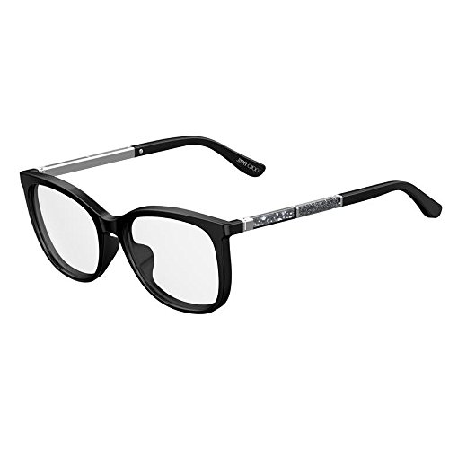 Jimmy Choo JC 191 807 Black Plastic Square Eyeglasses 53mm by JIMMY CHOO