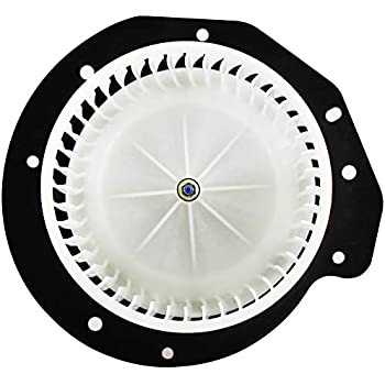 cciyu HVAC Heater Blower Motor with Wheel Fan Cage 35498 Air Conditioning AC Blower Motor fit for 1987-1990 Ford Bronco II //1991 Ford Explorer //1983-1994 Ford Ranger