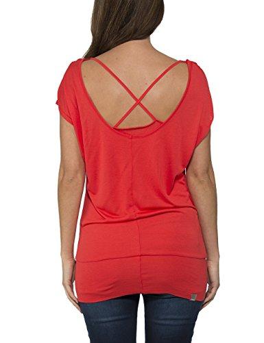Bench Alike - Camiseta Mujer Rojo