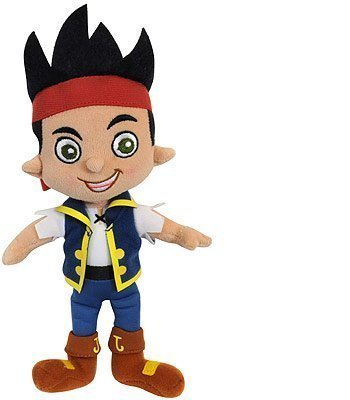 Disney Junior Jake Never Land Pirates Jake Plush Doll Toy 10