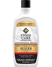Stone Care International Granite Stone Sealer - 16 Ounce - For Granite Marble Soapstone Quartz Quartzite Slate Limestone Corian Laminate Tile Countertop Squeeze Bottle