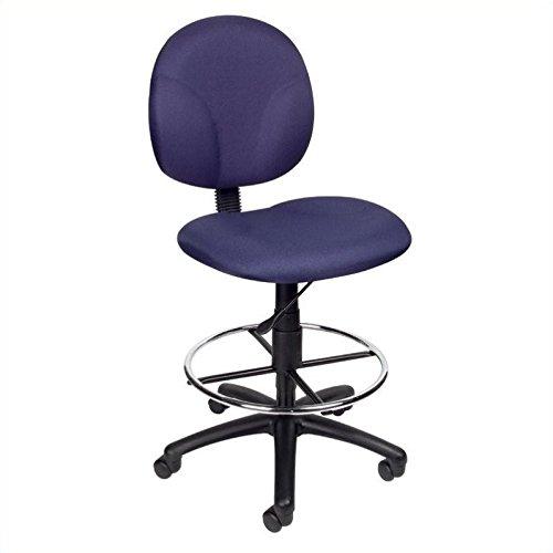 Scranton & Co Drafting Chair in Blue by Scranton & Co