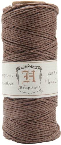 Hemtique Cord Spool 20-Pound, Dark (Dark Twine)