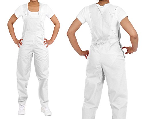 Medgear Unisex Overalls All Around Use (S, White)