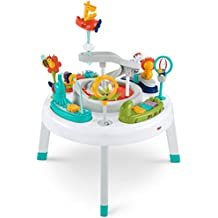 Fisher-Price 2-en-1 Sit to Stand Centro de Actividad, Spin 'N Play Safari