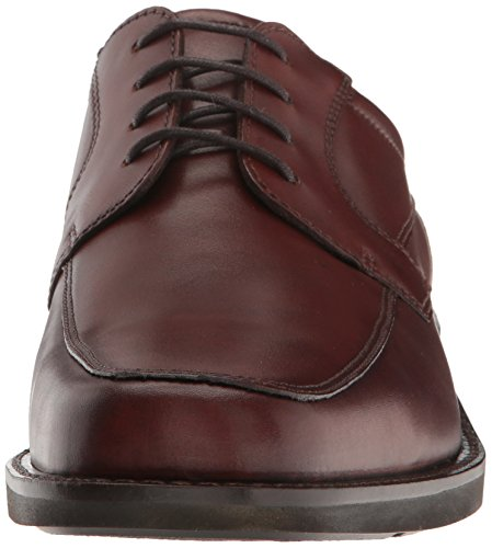 Ecco Mens Seattle Grembiule-toe Scarpa Derby Cognac / Marrone