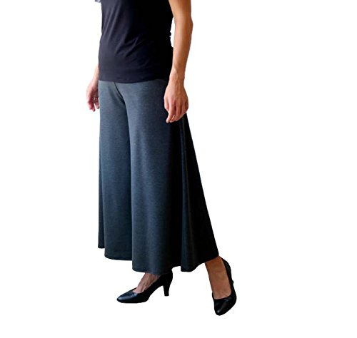 Flare pants, Wide leg pants, Grey pants, Wide pants, Pants skirt, Plus size pants by TasiFashion