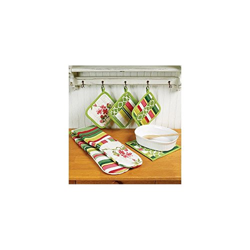 Apron, Hot Pads, Pot Holders, Place Mat, Napkin and Seat Cus-All Sizes in One (Placemat Mccalls)
