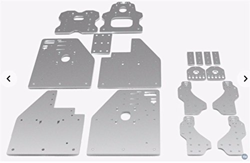 WillBest Openbuilds FL3D OX CNC Plates kit/Set OX CNC Router machined Plate Parts Accessory