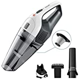 Handheld Vacuum, Holife [Upgraded] Cordless Hand Held Vacuum Cleaner with 6Kpa Cyclone Suction