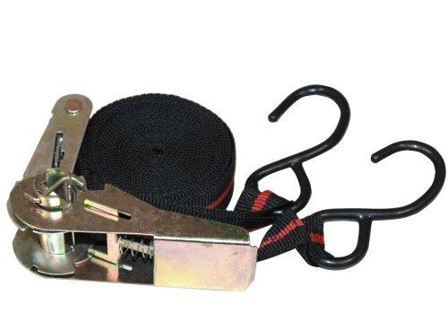 Aerzetix: Strap Ratschenspannhaken Ratschen - Bandspanner Mit Haken 4,5 m 25mm