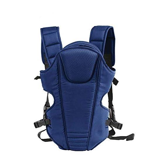 Mom's Pride 3 in 1 Baby Carry Bag Backpack Sling Back Position- Front Position Carrier (Navy Blue)