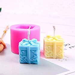Younar 3D Christmas Candle Mold,DIY Christmas Tr