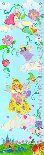 Fairy Fine Art - Oopsy Daisy, Fine Art for Kids PE2891 Growth Chart Fairy Princess Growth Chart