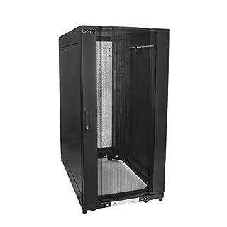 "StarTech.com Server Rack Cabinet - 25U Rack - 37"" Deep Enclosure - Server Cabinet - Computer Cabinet - Network Cabinet - Network Enclosure (RK2537BKM) (B0733VVD3F) | Amazon price tracker / tracking, Amazon price history charts, Amazon price watches, Amazon price drop alerts"