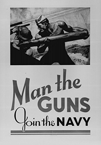 Old Tin Sign Join The Navy 8 x 12 Inches WWII World War 2 ii Recruiting Posters 100% MADE IN THE (Stuff Inside Tin Sign)