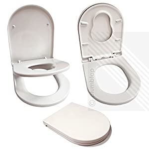 strong toilet seat hinges.  Toilet Seat for Young Families Child Friendly Very STRONG Perfect Potty Training Includes Top Bottom Fixing Hinges by EcoSpa Amazon com Premium Soft Close White D Shape