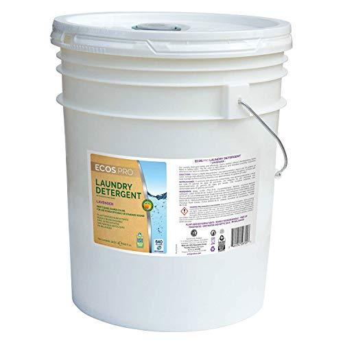 ECOS Liquid Laundry Detergent, Lavender 2X 5 Gallon Pail, Lo