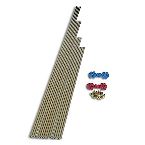 Nitrous Express 8 Cylinder (Nitrous Express 80085 8-Cylinder Stainless Tubing Plumbing Kit)