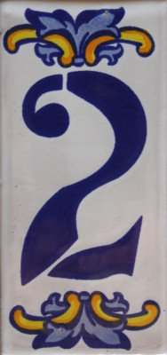- Fine Crafts Imports Villa Mexican Tile House Number Two
