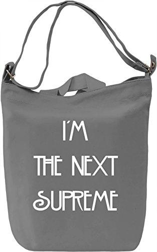 The Next Supreme Borsa Giornaliera Canvas Canvas Day Bag| 100% Premium Cotton Canvas| DTG Printing|