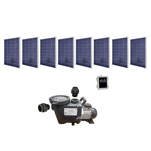 SAVIOR Sunray SOLFLO-4-S2KW-PM-115-60-240 Solar Pool Pump...