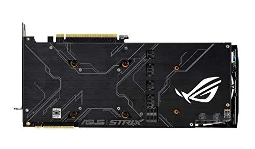 Asus ROG STRIX RTX 2080 OC Edition 8 GB GDDR6 con LED RGB, Aura Sync e dissipatore triventola per gaming 4K e VR