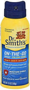 Dr. Smith's Diaper Rash Spray - 3.5 oz, Pack of 6 by Dr. Smiths