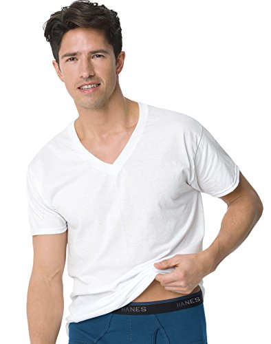 Hanes Men's ComfortBlend® V-Neck Undershirt 3-Pack