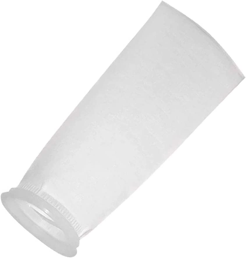 Honritone 7 Inch Ring by 32 Inch Long Filter Sock Bags - 1 Micron, 5 Micron, 25 Micron, 50 Micron,75 Micron, 100 Micron,150 Micron - Industry,Chemical, Water Liquid Filters -1Pack