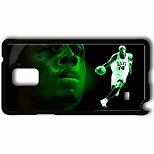 Personalized Samsung Note 4 Cell phone Case/Cover Skin Action head PP Black