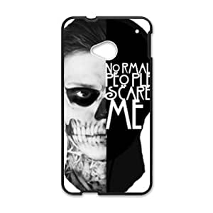 Happy normal people scare walkers Cell Phone Case for HTC One M7