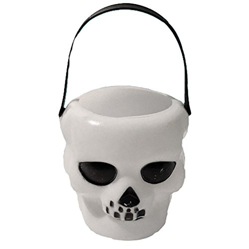 Asien White Shantou Bucket for Halloween prom Bar Decoration 1PC -