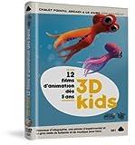 3D Kids: 12 Films Animated Collection (Oktapodi / the Great Escape / Al Dente / Bois / Frigo / Herbstlaub / Kudan / Jeu d'enfants / PG1: 13 / Nicolas et Guillemette / Clik clak...) by Olivier Vogel