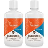 Bulletproof Brain Octane Oil, Reliable and Quick Source of Energy, Ketogenic Diet, More Than Just MCT Oil (2-Pack 32oz)