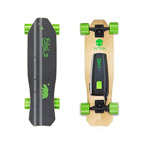 ACTON Blink Lite Go | Summer Sale | World's Lightest Electric Skateboard for Youth | Up to 5 Mile Range | 10 MPH Top Speed | Bluetooth Remote Control Included