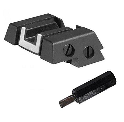 Glock Adjustable Rear Sight w/Mini Screwdriver T0312 (Elevation Adjustable Rear Sight)