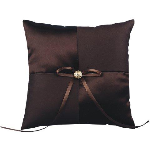 Hortense B. Hewitt Wedding Accessories Mocha Dream, Ring Bearer Pillow