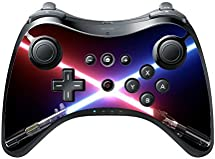 Crossed Blades Wii U Pro Controller Vinyl Decal Sticker Skin by Demon Decal