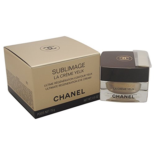 Chanel Sublimage La Creme Yeux Ultimate Regeneration Eye Cream, 0.5 Ounce