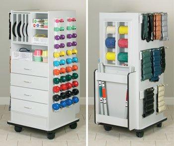 Zenus SuperRac Model 5140 excercise Storage Cabinet - Vangaurd Kangoo Series by Clinton Kangoo