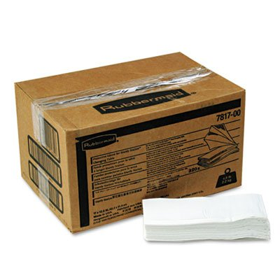Sturdy Station 2 Baby Changing Table Liners, 320/Carton, Sold as 1 Carton, 320 Each per Carton by Rubbermaid Commercial