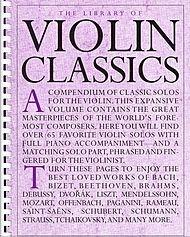 The Library of Violin Classics with Violin Solo Book (Violin Classics American)