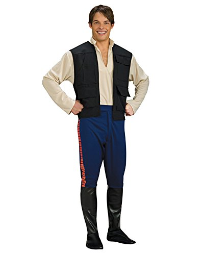 Deluxe Hans Solo Costume Star Wars Theatre Costumes Sci Fi Fantasy Mens (Sci Fi Costumes Ideas)